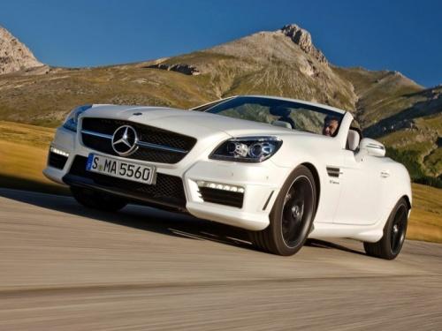 奔驰slk级amg最低129.9万起售无 现车需预订高清图片