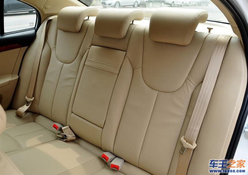 荣威350荣威350后排座椅高清图片