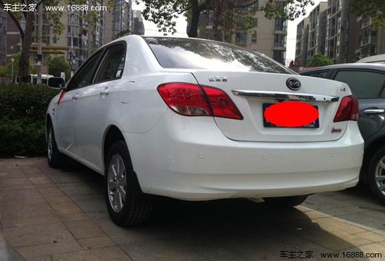 2013款比亚迪L3 1.5L自动舒适型购车经历高清图片