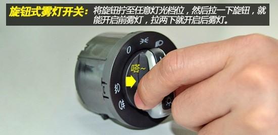汽车车灯图解大全 1 雾灯的使用及操作高清图片