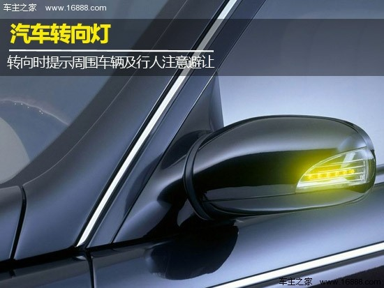 汽车车灯图解大全 3 转向灯的使用及操作高清图片
