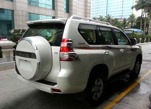 丰田霸道2700惊爆价 中东版九气囊35万起售