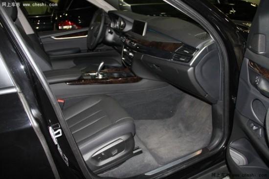 2014款宝马x5美规版选装的设备包括运动包,充氖气的前灯,多功能前方向