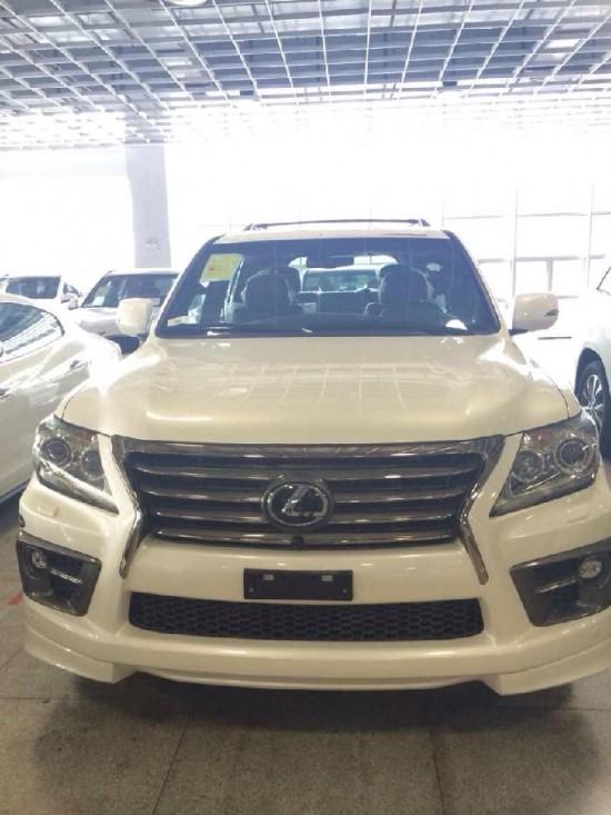 雷克萨斯lx570s最新款凌志570现车出售 高清图片